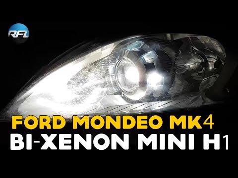 Ford Mondeo Headlight Upgrade | Ford Mondeo Mk4 / MkIV bi-xenon Mini H1 projector replacement