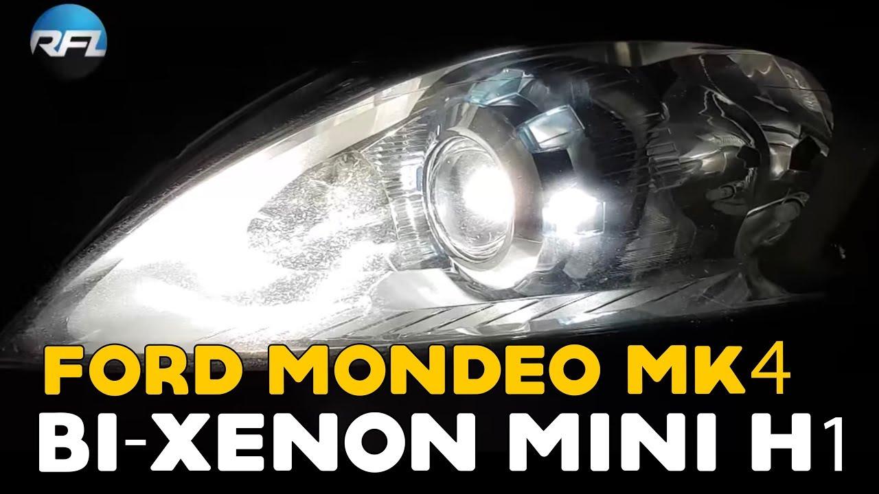 Ford Mondeo Mk IV / Mk 4 bi-xenon headlight repair