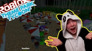 WE FINISH THE GROTTO! WE CREATE A GLOW ZONE! | THEME PARK TYCOON 2 [4] | ROBLOX #33