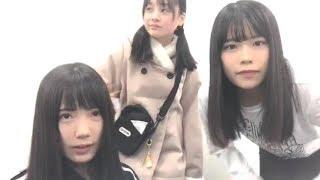 2018年12月12日17時26分 STU48 門田 桃奈・矢野 帆夏.