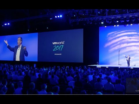 VMworld 2017 Europe - General Session Day 1