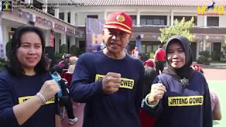 Gowes Sehat Gowes Gayeng Semarakkan Peringatan HDKD di Kanwil Jateng