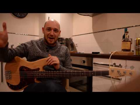 SBL in London Day #2 - Steve Pearce & Sandy Beales /// Scotts Bass Lessons