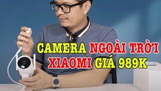 Trên tay Camera ngoài trời Xiaomi IMILAB EC3 xoay 270 độ, quay 2K