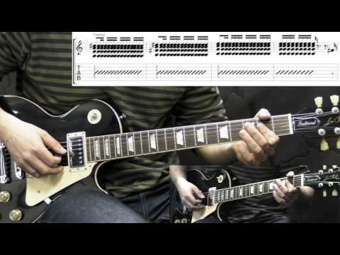 Led Zeppelin - Immigrant Song - Rock Guitar Lesson (with Tabs)