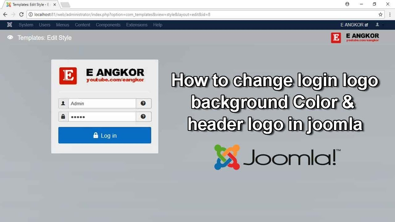 Change Template Background Color Joomla 2 5 | Coloring
