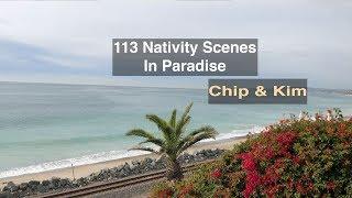 113 Nativity Scenes - Chip & Kim, The Amazing Race Winners
