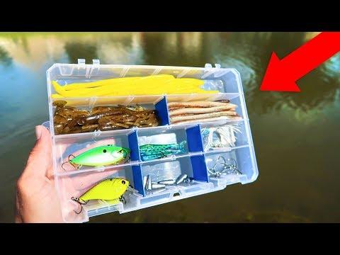 Building My Own $5 WALMART Fishing Kit (BUDGET Challenge)