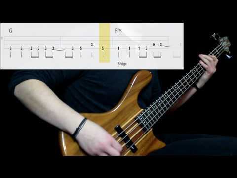 Royal Headache - Carolina (Bass Cover) (Play Along Tabs In Video)