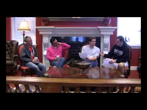 Mike and Slane at Night Madcap Cottage interview featuring John Loecke and Jason Oliver Nixon