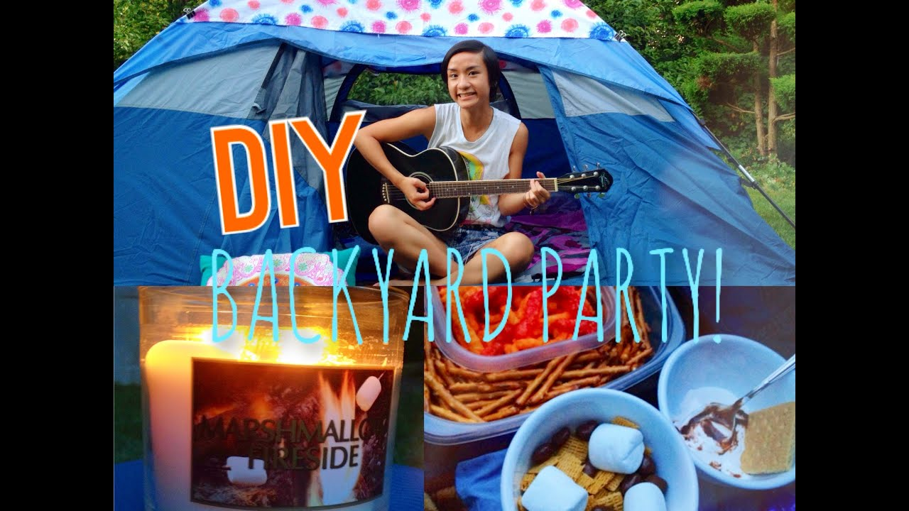 DIY Backyard Summer Party