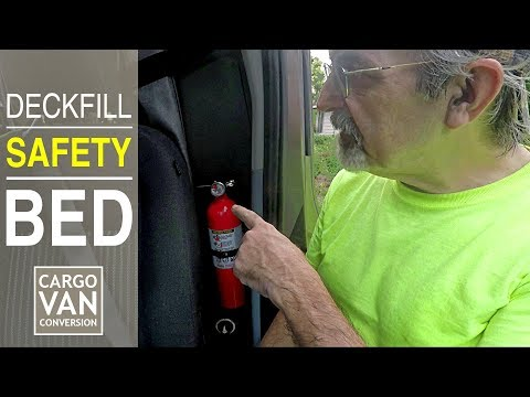 Fire Extinguisher, Murphy Bed Preparations & RV Deckfill