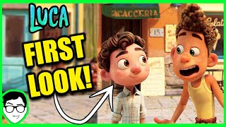 Luca first look at new pixar movie + details!