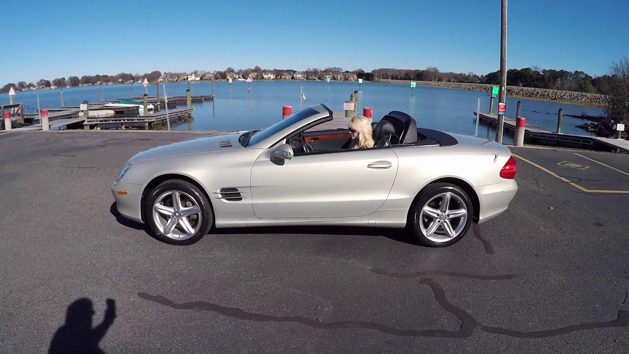 2003 Mercedes SL 500 Designo Launch Edition - YouTube