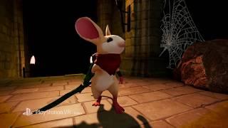 Moss — игровой процесс с PlayStation VR