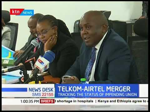 ICT Senate Committee meet to discuss the status of the Telkom -Airtel Merger