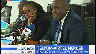 ICT Senate Committee meet to discuss the status of the Telkom -Airtel Merger