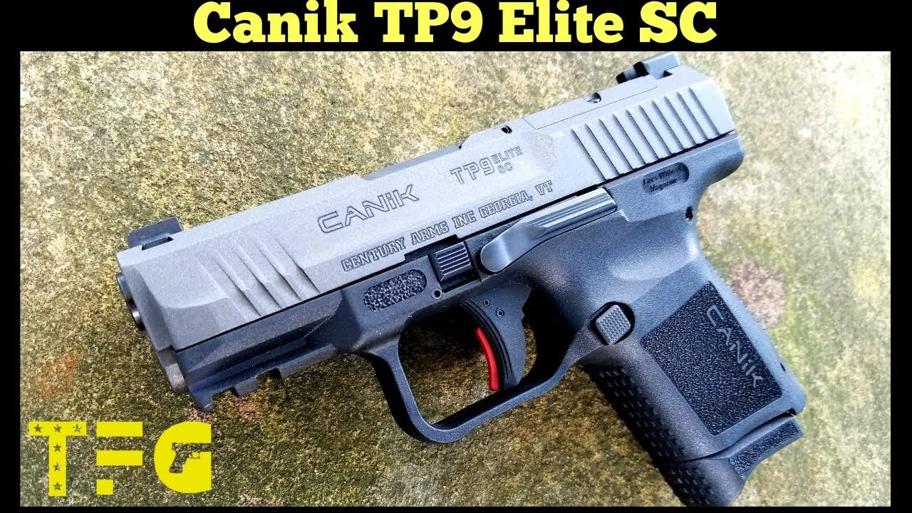 NEW Canik TP9 Elite SC Range Review - TheFirearmGuy - YouTube