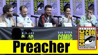 AMC's PREACHER | Comic Con 2018 Full Panel (Dominic Cooper, Ruth Negga, Seth Rogen)