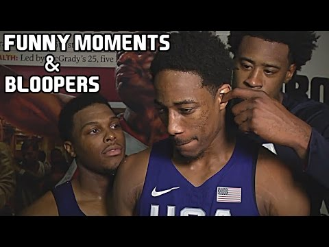USA Basketball Team Funny Moments & Bloopers of All Time