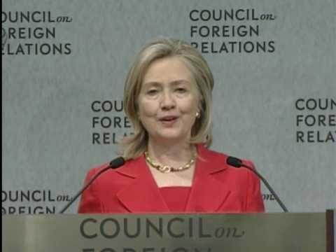 Secretary Clinton Delivers Remarks at the Council on Foreign Relations