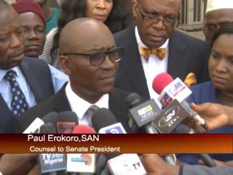 Update on Senate President Bukola Saraki's Trial At Code of Conduct Tribunal