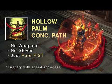 Fisting The Floor With Hollow Palm Concecrated Path (speed Showcase, Lvl83 Progress)