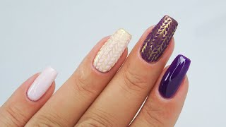 Knitted nails tutorial / FunLac