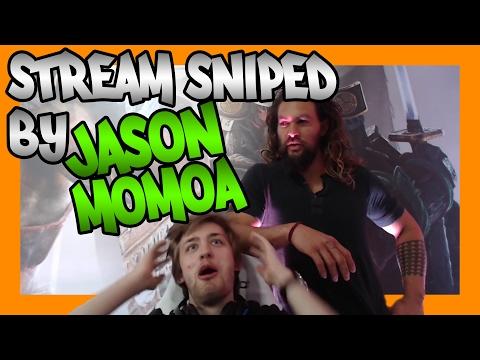 IRL Stream Sniped By JASON MOMOA
