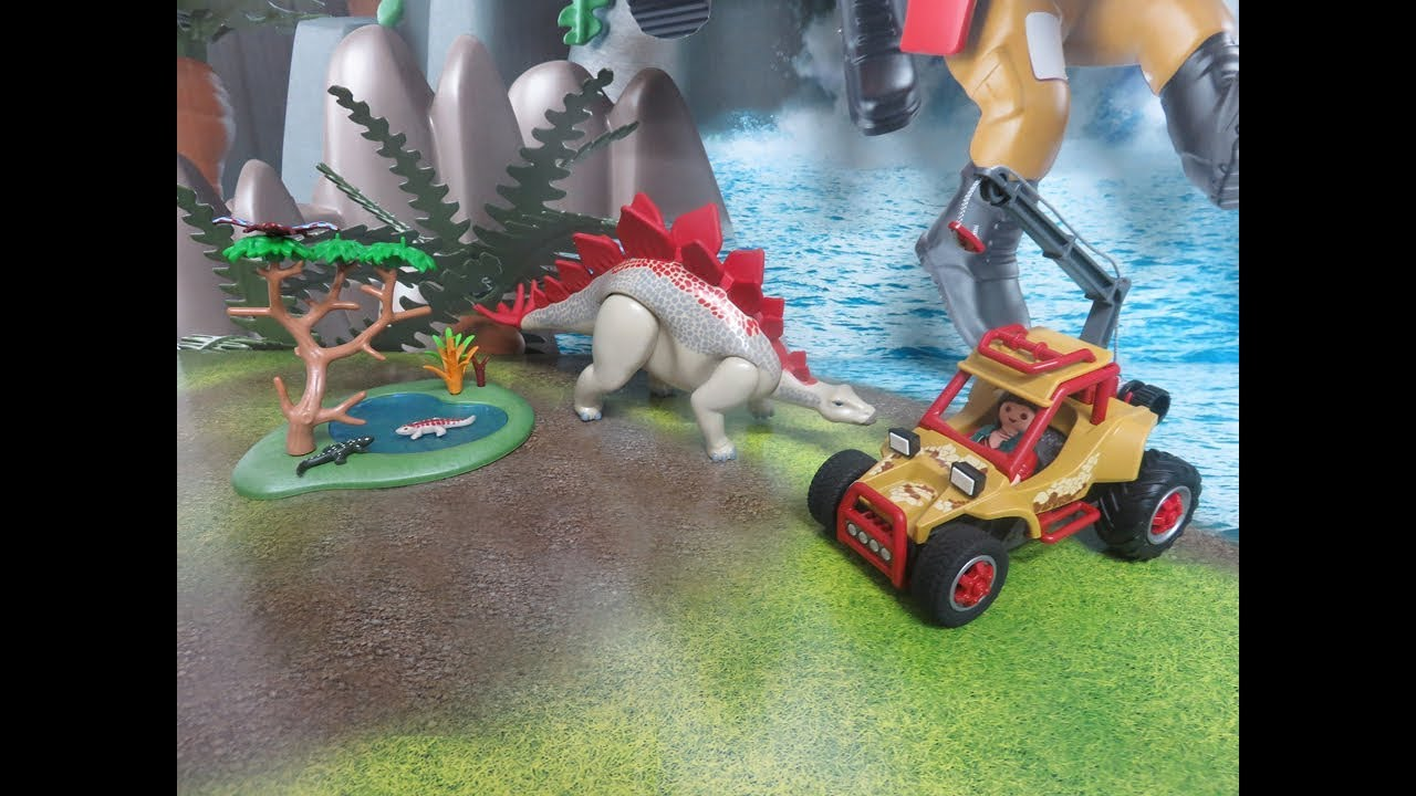 Playmobil Neuheit 2018 Dino Spielwelt Forschermobil Mit