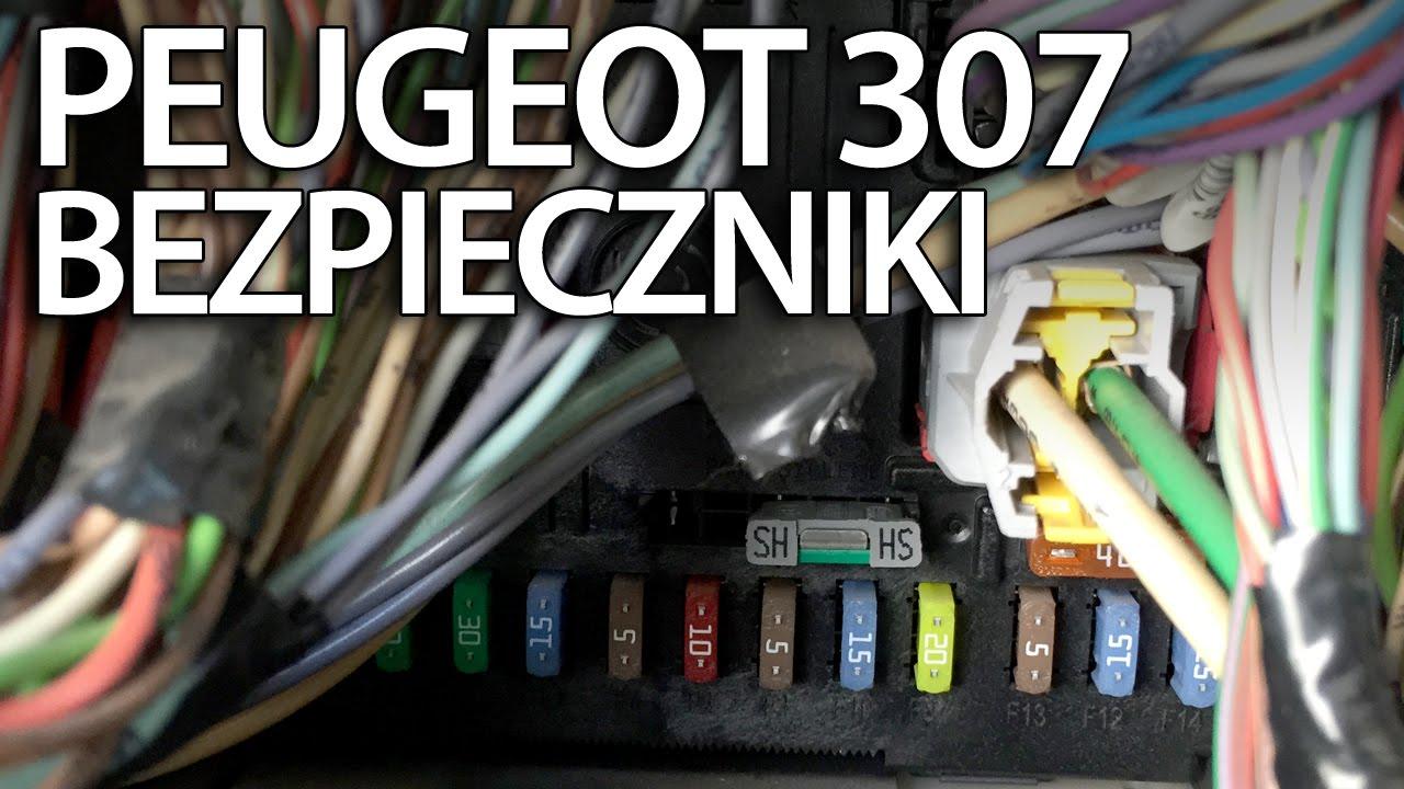 110 Light Switch Wiring Diagram Gdzie Są Bezpieczniki Przekaźniki I Port Obd W Peugeot