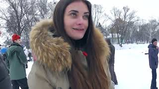 Украинский зимний картинг