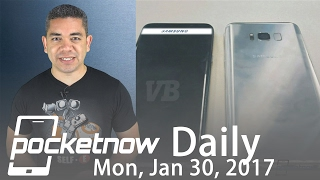 Samsung Galaxy S8 design changes, BlackBerry camera & more   Pocketnow Daily