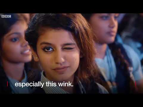 Priya Varrier  The actress whose wink stopped India   news