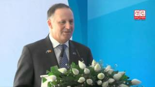 New Zealand PM visits model dairy farm and training facility in Pannala
