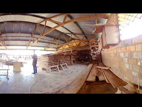 How to sharpen a panga @St Simon Peter VTI #VRSkillsChannel #Virtual Reality #SkillingUganda