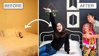 BTS Themed Bedroom Makeover on a Budget!