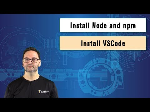 Learn Node js, Unit 2: Installing Node js, npm, and VS Code