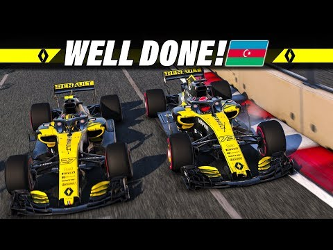 F1 2018 KARRIERE S02E04 – Well Done, Baku! | Let's Play Formel 1 Deutsch Gameplay German