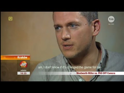 Wentworth Miller Interview Polish TV (2015)