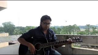 Sonar Moyna Pakhi Arnob covered by Sharif @nis @ guitar lesson