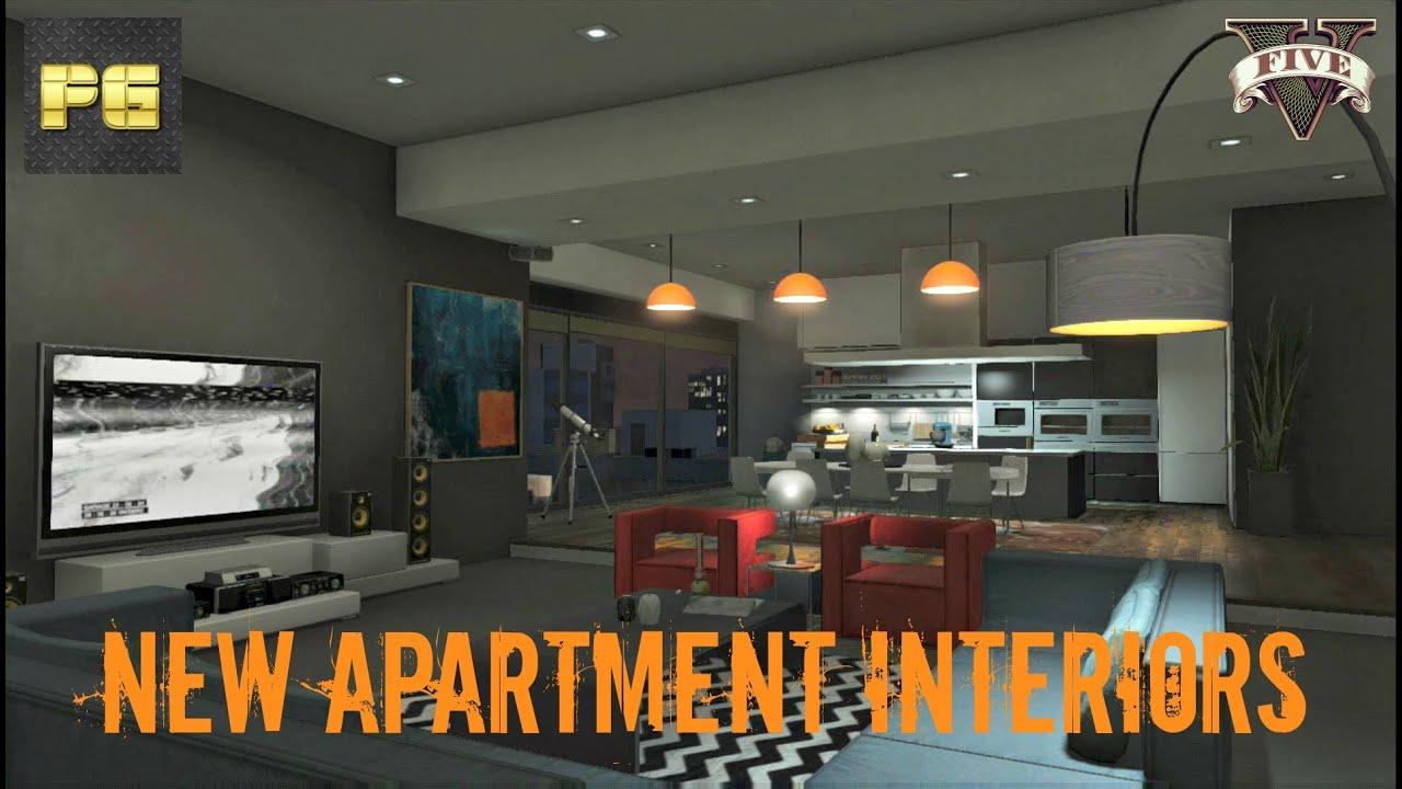 Gta 5 Online New Apartment Interior High Life Update 1 13