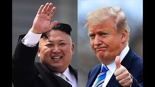 TRUMP MEETS KIM JONG UN DURING HISTORY KOREAN SUMMIT IN SINGAPORE