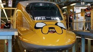 2013 台灣高鐵歡樂卡通列車 施工過程記錄 The Making of THSR x Cartoon Network Theme Train