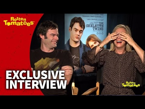 The Skeleton Twins Star Bill Hader Is So Funny He Makes Kristen Wiig Cry | Rotten Tomatoes