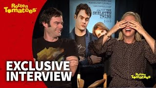 The Skeleton Twins Star Bill Hader Is So Funny He Makes Kristen Wiig Cry