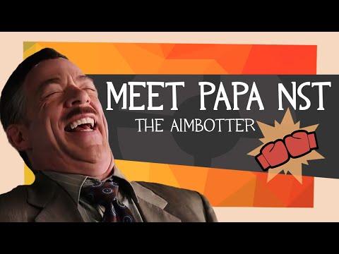 Meet papa nst, the aimbotter