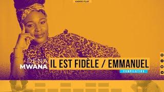 DENA MWANA - IL EST FIDÈLE / IL Y A LA PUISSANCE / EMMANUEL | Live Piano
