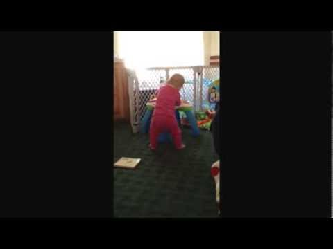 Happy Dancing 9 Month Old