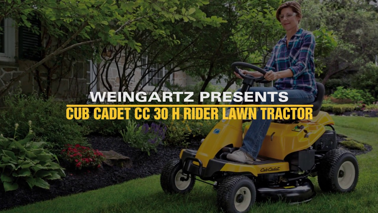 Buyer's Guide to Cub Cadet CC 30 H Rider - Weingartz